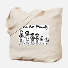 Ass Family Tote Bag