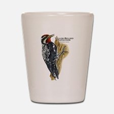 Yellow-Bellied Sapsucker Shot Glass