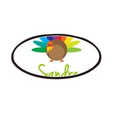 Sandra the Turkey Patches
