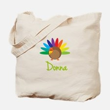 Donna the Turkey Tote Bag