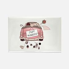 Wedding Rectangle Magnet