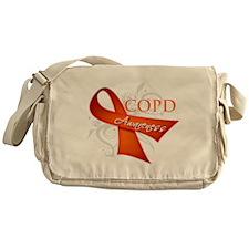 COPD Awareness Messenger Bag