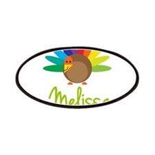 Melissa the Turkey Patches