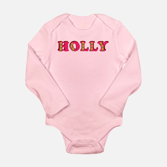 Holly Long Sleeve Infant Bodysuit