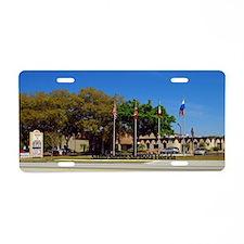 Sahib Shriners Aluminum License Plate