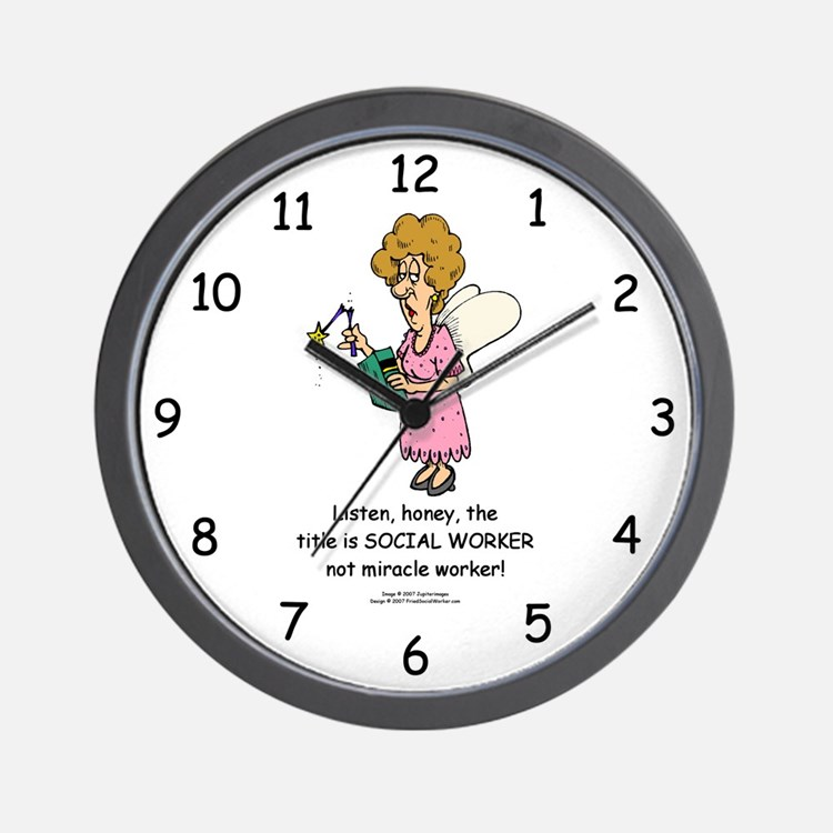 Miracle Worker Wall Clock