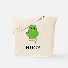Cactus Hug Tote Bag