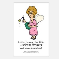 Miracle Worker Postcards (Pack of 8)