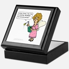 Miracle Worker Keepsake Box