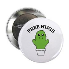 "Free Hugs 2.25"" Button (100 pack)"