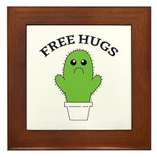 Free Hugs Framed Tile