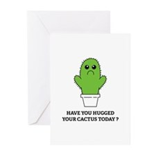 Hugged Your Cactus Greeting Cards (Pk of 20)