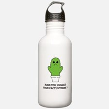 Hugged Your Cactus Water Bottle