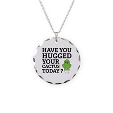 Hugged Your Cactus Necklace