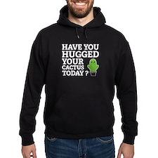 Hugged Your Cactus Hoodie