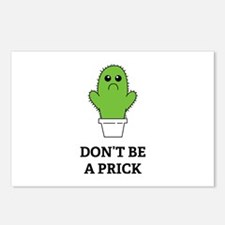 Don't be a Prick Postcards (Package of 8)