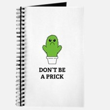 Don't be a Prick Journal