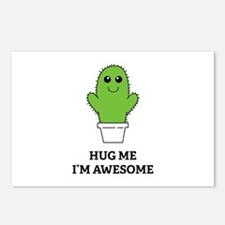 Hug Me I'm Awesome Postcards (Package of 8)