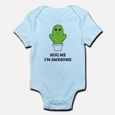 Hug Me I'm Awesome Infant Bodysuit