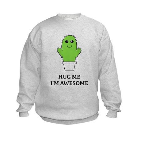 Hug Me I'm Awesome Kids Sweatshirt