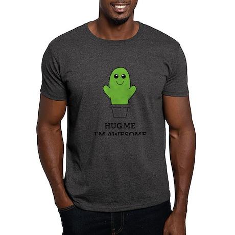 Hug Me I'm Awesome Dark T-Shirt