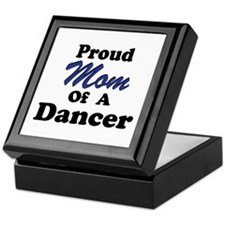 Mom of a Dancer Keepsake Box