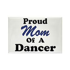 Mom of a Dancer Rectangle Magnet