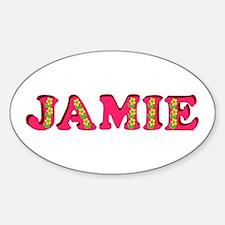 Jamie Sticker (Oval)