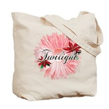 Twilight Pink Snow Flower by Twidaddy Tote Bag