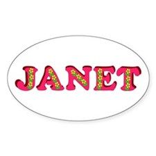 Janet Decal