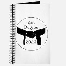 Martial Arts 4th Degree Black Belt Journal