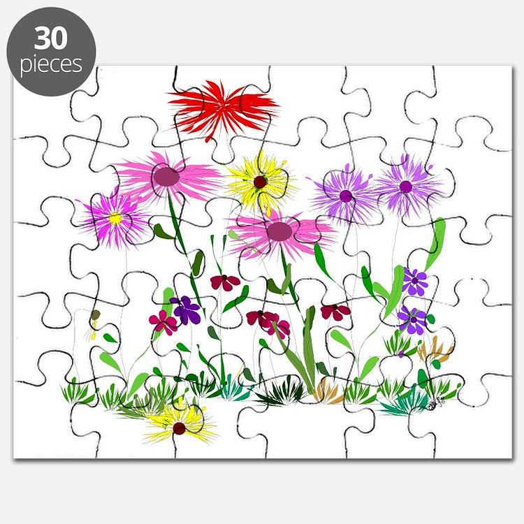 Flower Bunch Puzzle