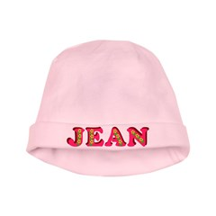 Jean baby hat
