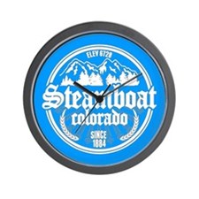 Steamboat Springs Wall Clock