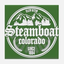 Steamboat Springs Tile Coaster