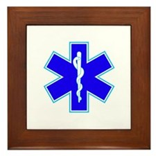Star of Life (Ambulance) Framed Tile