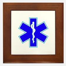 Star of Life (Ambulance) Framed Tile