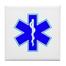 Star of Life (Ambulance) Tile Coaster