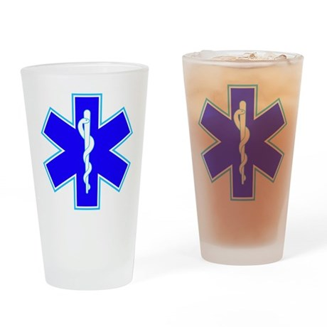 Star of Life (Ambulance) Drinking Glass