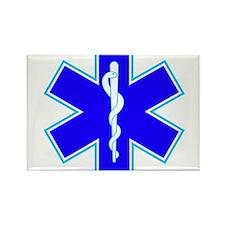 Star of Life (Ambulance) Rectangle Magnet