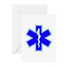Star of Life (Ambulance) Greeting Cards (Pk of 10)