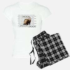 DOOKING FERRET pajamas