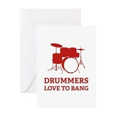 Drummers Greeting Card