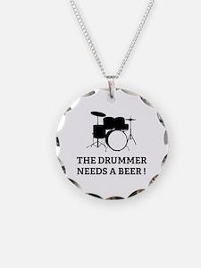 Drummer Beer Necklace