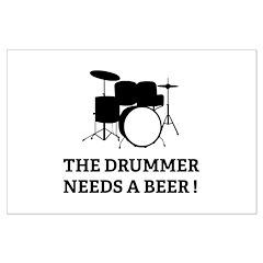 Drummer Beer Posters