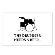 Drummer Beer Postcards (Package of 8)