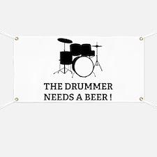 Drummer Beer Banner