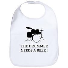Drummer Beer Bib