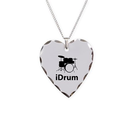 iDrum Necklace Heart Charm