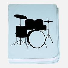 Drums baby blanket